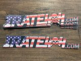 "11"" irate4x4 'Merica Themed Sticker"